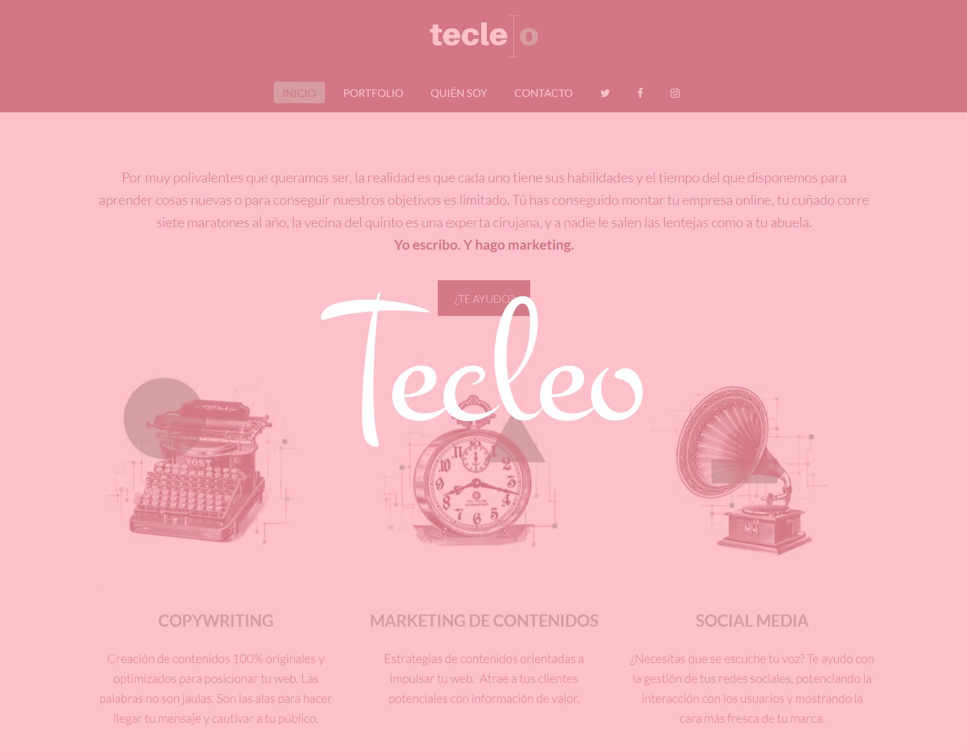 tecleo web